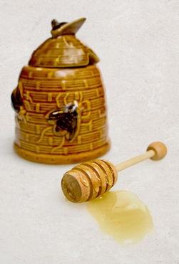 oryginalny pojemnik na miód