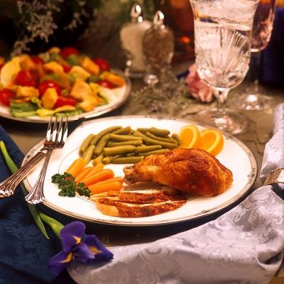 współne posiłki