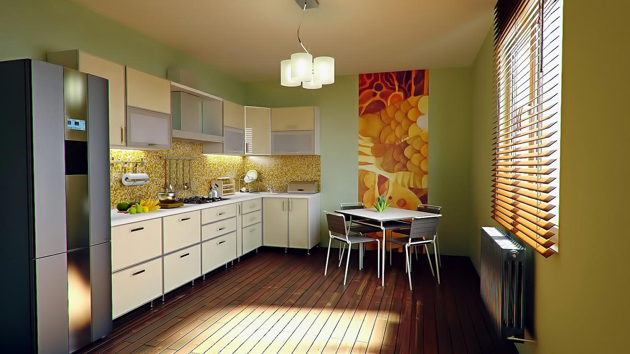 Jakie ściany w kuchni?