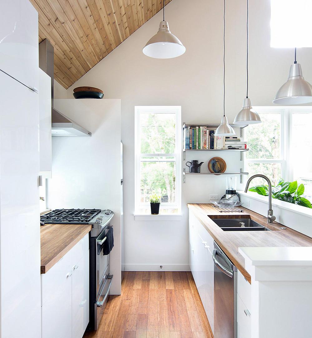 Wykańczanie małej kuchni